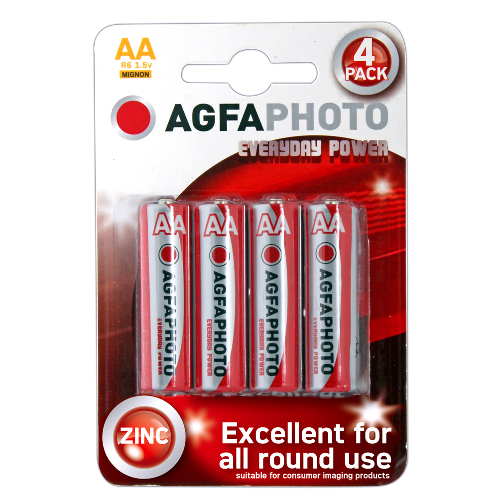 AA Batteries 4 card